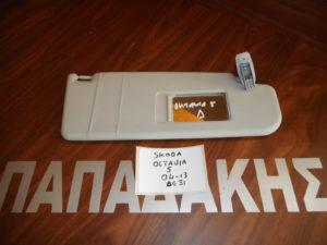 Skoda Octavia 5 2004-2013 αλεξήλιο δεξιό