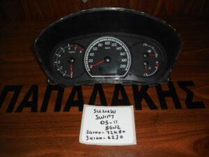 Suzuki Swift 2005-2011 Βενζίνα καντράν κωδικός: 34100-72KB0 34100-62J0
